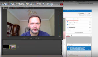 YouTube – Setting Stream Now With Wirecast