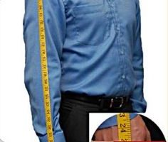 Antonio Centeno's Skin and Clothing Measurements
