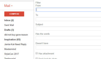 GMail – Allow Only Certain Emails To Be Received To Inbox