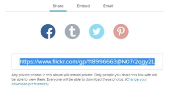 Create or Delete Temporary Guest Passes in Flickr