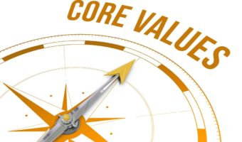Core values. Being best version of myself