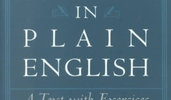Legal Writing In Plain English (Non-legal chapters summarized)