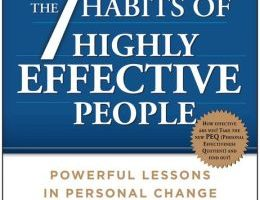 Self help book – The 7 Habits of Highly Effective People