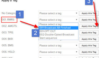 Manually Adding User to RMRS Regular Email Broadcasts (Newsletter)