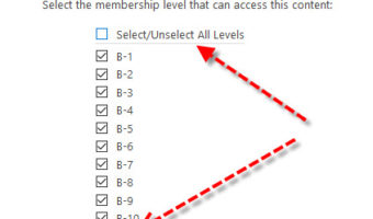 Fixing: Oops! Wrong Membership Level