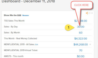 How To Check New Payments In Infusionsoft
